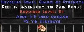 4-8 Cold Damage w/ 2 Str SC