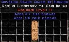 4-8 Cold Damage w/ 3-7 Fire Damage GC