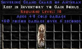 4-8 Cold Damage w/ 50 Poison Damage GC