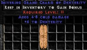 4-8 Cold Damage w/ 6 Dex GC