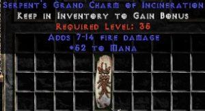52 Mana w/ 7-14 Fire Damage GC
