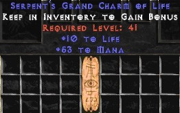 53-58 Mana w/ 10-20 Life GC