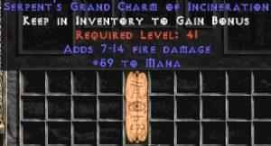 59 Mana w/ 7-14 Fire Damage GC