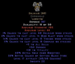 Delirium Demonhead