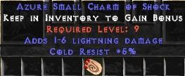 5 Resist Cold w/ 1-6 Lightning Damage SC