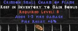 5 Resist Fire w/ 1-2 Fire Damage SC
