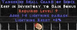 5 Resist Lightning w/ 1-6 Lightning Damage SC