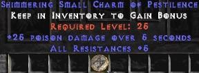 5 Resist All w/ 25 Poison Damage SC