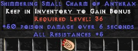 5 Resist All w/ 50 Poison Damage SC
