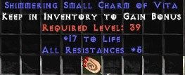 5 Resist All w/ 10-15 Life SC