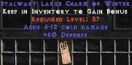 60 Defense w/ 6-12 Cold Damage LC