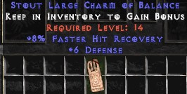 6 Defense w/ 8% FHR LC