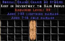7-15 Cold Damage w/ 1-33 Lightning Damage GC