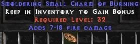 7-18 Fire Damage SC