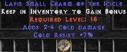 7 Resist Cold w/ 2-4 Cold Damage SC