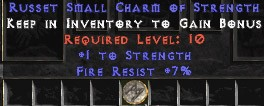 7 Resist Fire w/ 1 Str SC