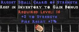 7 Resist Fire w/ 2 Str SC