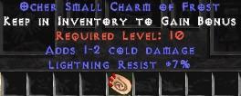7 Resist Lightning w/ 1-2 Cold Damage SC