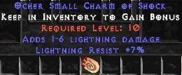7 Resist Lightning w/ 1-6 Lightning Damage SC