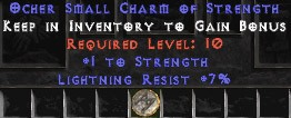 7 Resist Lightning w/ 1 Str SC