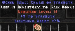 7 Resist Lightning w/ 2 Str SC