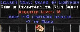 7 Mana w/ 1-10 Lightning Damage SC
