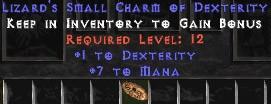 7 Mana w/ 1 Dex SC