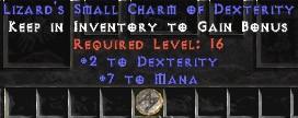 7 Mana w/ 2 Dex SC