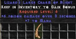 7 Mana w/ 6 Poison Damage LC