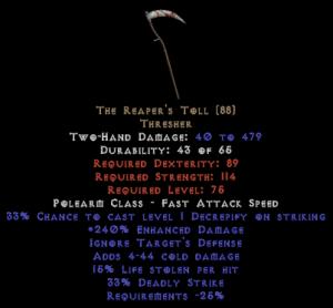 The Reaper's Toll - 240% ED