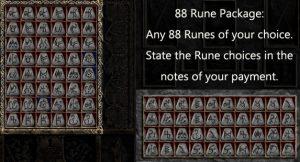 Multiple Rune Package 88 x Any Runes