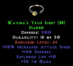M'avina's True Sight