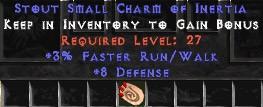 8 Defense w/ 3% FRW SC