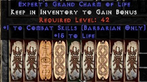 9 x Pack - Barbarian Combat Skills w/ 10-20 Life GC