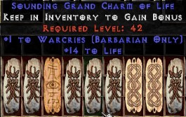 9 x Pack - Barbarian Warcries w/ 10-20 Life GC