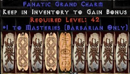 9 x Pack - Barbarian Combat Masteries GC (plain)
