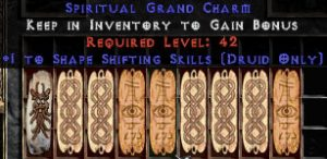 9 x Pack - Druid Shape Shifting Skills GC (plain)