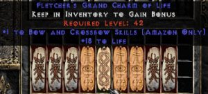 9 x Pack - Amazon Bow & Crossbow Skills w/ 10-20 Life GC