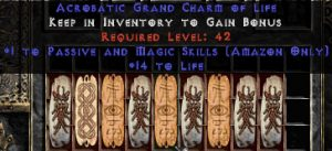 9 x Pack - Amazon Passive & Magic Skills w/ 10-20 Life GC