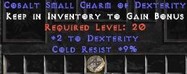 9 Resist Cold w/ 2 Dex SC