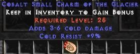 9 Resist Cold w/ 3-6 Cold Damage SC
