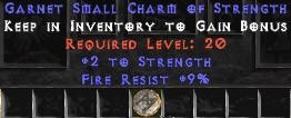 9 Resist Fire w/ 2 Str SC