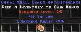 9 Resist Lightning w/ 15 Life SC