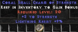 9 Resist Lightning w/ 2 Str SC