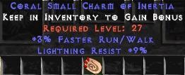 9 Resist Lightning w/ 3% FRW SC