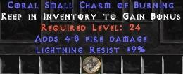 9 Resist Lightning w/ 4-8 Lightning Damage SC