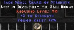 9 Resist Poison w/ 2 Str SC