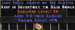 9 Resist Poison w/ 3-6 Poison Damage SC