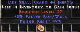 9 Resist Poison w/ 3% FRW SC