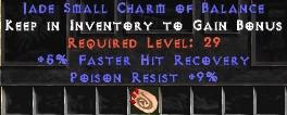 9 Resist Poison w/ 5% FHR SC